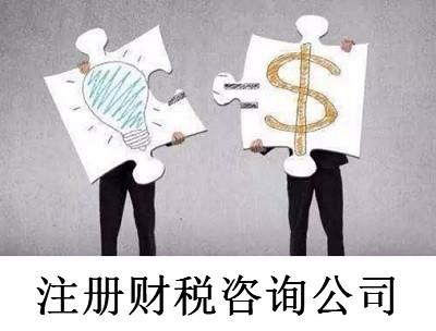 最新厦门财税咨询公司注册流程
