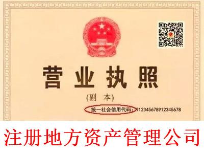 最新厦门地方资产管理公司注册流程