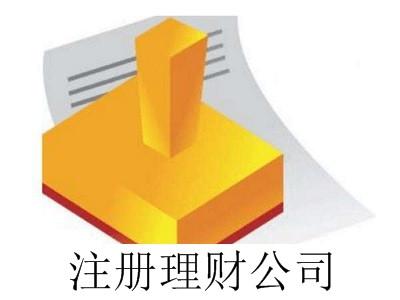 最新厦门注册理财公司流程
