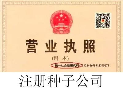 最新厦门种子公司注册流程